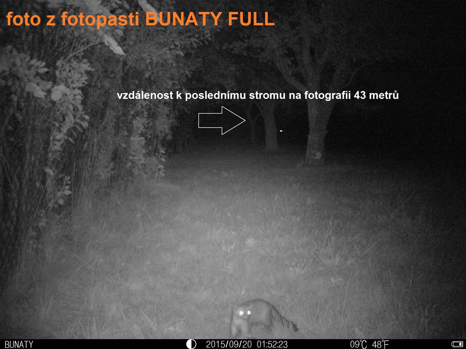 noční snímek bunaty